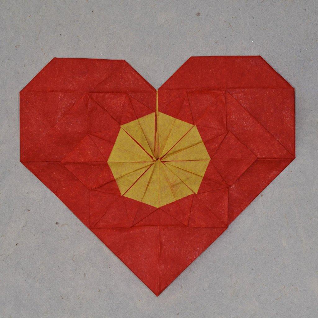 Flower in a Heart